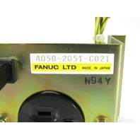 FANUC A05B-2051-C021 RECEPTACLE 5AMP 115VAC