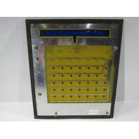 HAYSSEN MICRO LOGIC OPERATOR PANEL CONTROL FACE, CBEIOC-1 BOARD