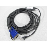 NEW AVOCENT USBIAC-15 USB CAT-5 INTEGRATED ACCESS CABLE