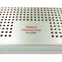 * KATENA K9-2350 INSTRUMENT STERILIZATION CASE DOUBLE LEVEL
