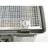 """* AESCULAP DBGM STERILCONTAINER JF 374 STAINLESS 11 x 7 x 2-1/4"""""""