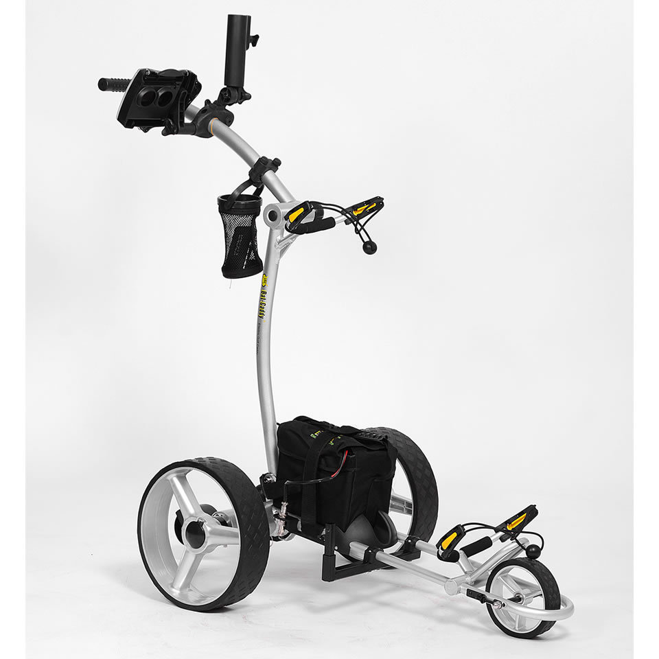 Bat Caddy X4 Electric Motorized Golf Push Cart Trolley + Free Accessories