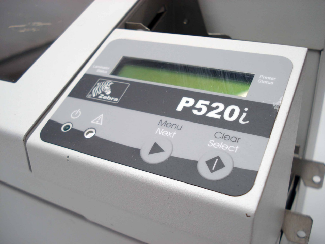 Zebra P520i ID Card Printer Dual-Sided with Lamination - DISCONTINUED
