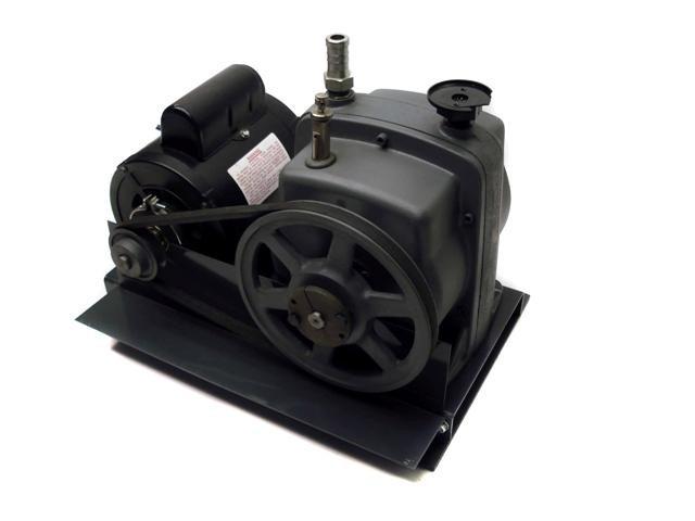 Equatherm Belt Driven Vacuum Pump A O Smith Hp Motor Ebay