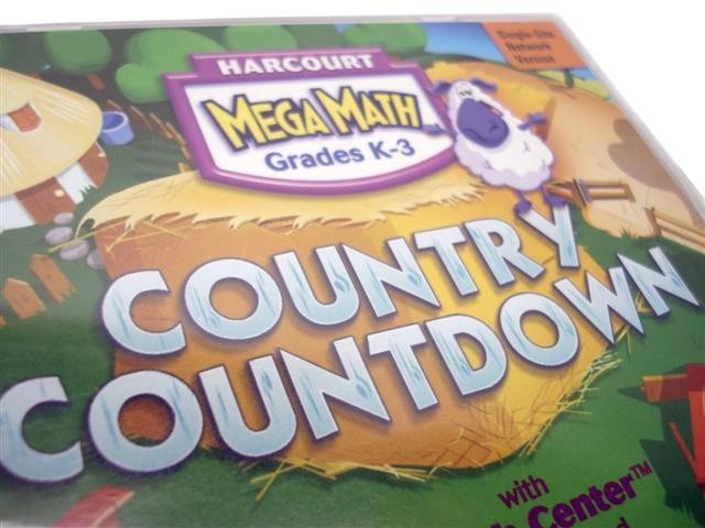 Harcourt Megamath Country Countdown Grades K 3 Version 2 0