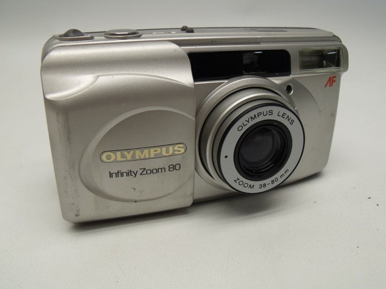 Olympus Infinity Zoom 80 Qd 35mm 38 80mm Point And Shoot