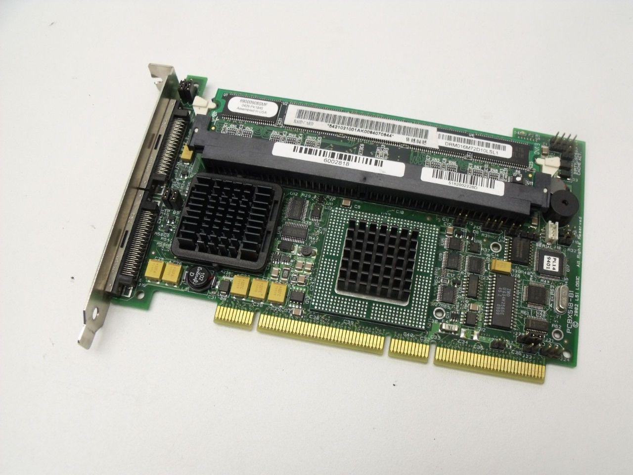 LSI MegaRAID SCSI 320-2 RAID Controller Series 518 Hardware Manual