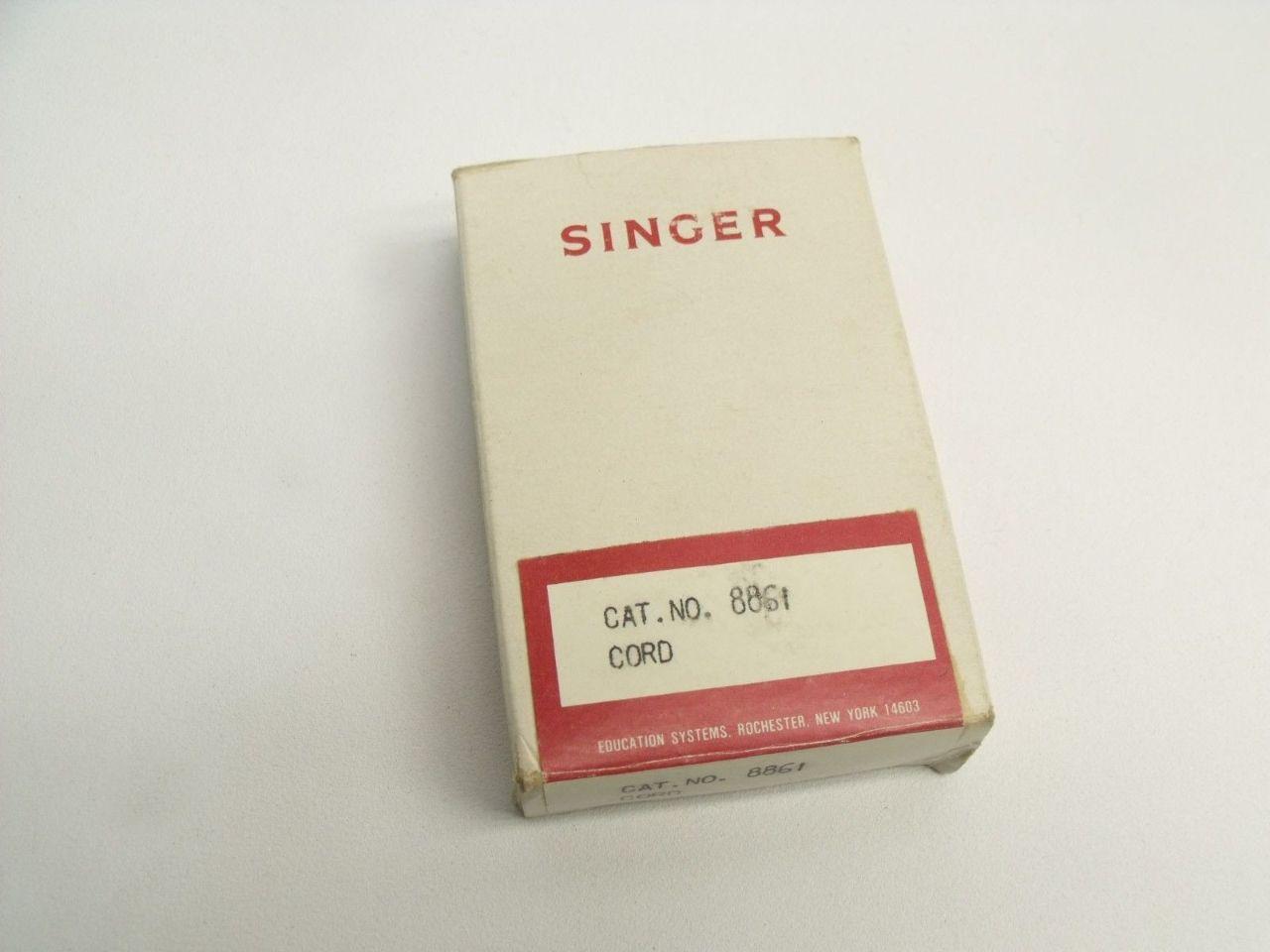 singer sewing machine cord