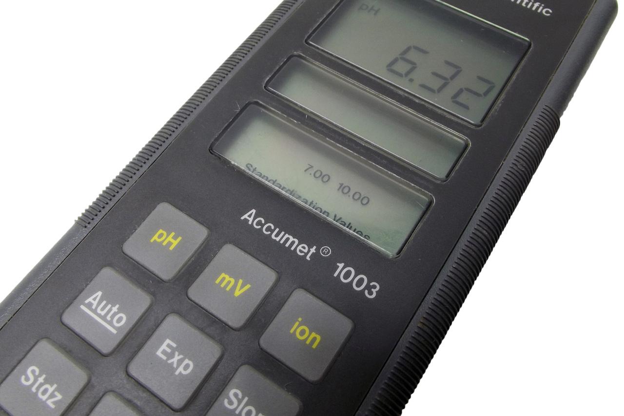Ph Meter Lab : Fisher scientific portable accumet ph mv ion meter