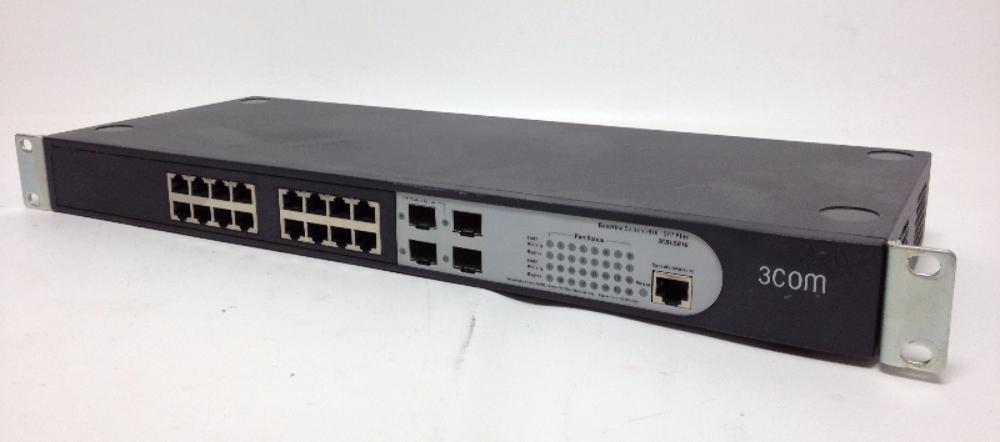 3com baseline switch 2916 sfp plus 3cblsg16 with for 3 com switch