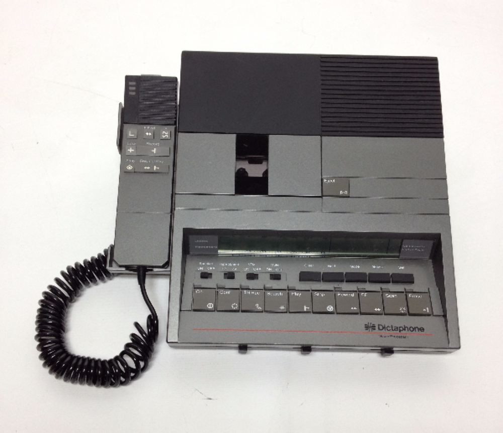 VINTAGE Dictaphone Desktop Voice Processor Pitney Bowers Company