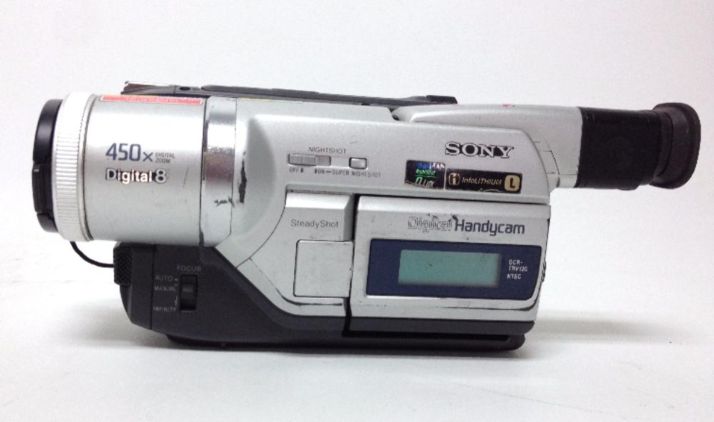 Sony Handycam DCR-TRVE - camcorder - Digital8 Series Specs
