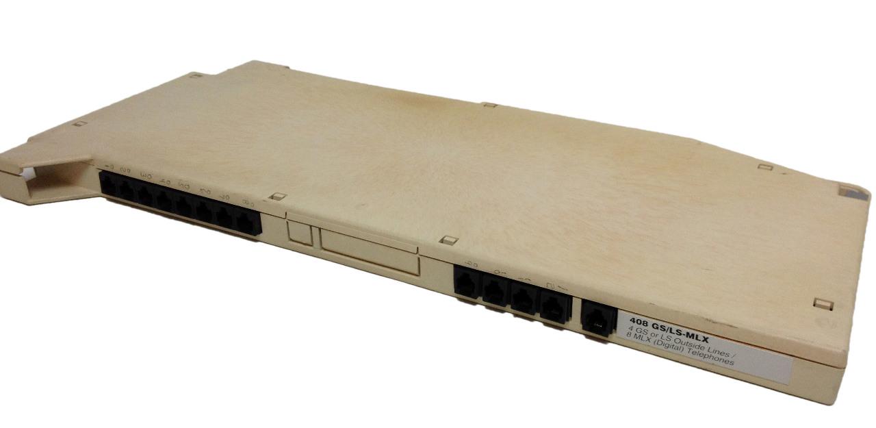 Avaya VINTAGE 408 GS/LS-MLX 4 GS or LS Outside Lines 8 MLX Digital Telephones