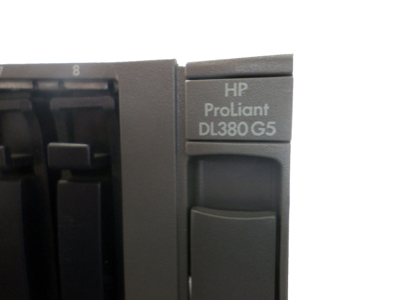 hp proliant dl380 g5 8 gb ram 2 exon processors 2 fiber cards no hard drive ebay. Black Bedroom Furniture Sets. Home Design Ideas