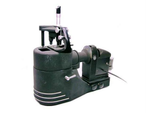 RARE Vintage Bausch & Lomb Microscope & Feed ARC LAMP