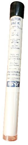 "Smith-Victor 12"" x 12"" Light Medium & Heavy Diffusion Filter Pack #650022"