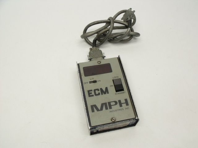 Police #2536 ECM MPH Digital Reader AS-IS