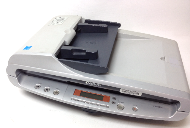Canon Document Scanner DR-1210C with User Guide