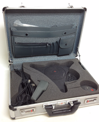 Lucent StoundStation Premier POLYCOM Conference Phone 2301-03322-001 with EXTRAS