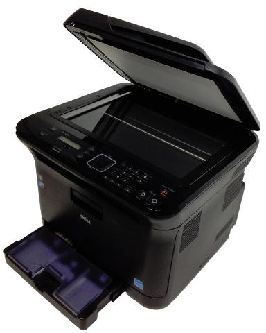 Dell 1235cn Multifunction Color Laser Printer Copier CN-OH244M-72211-05E0143