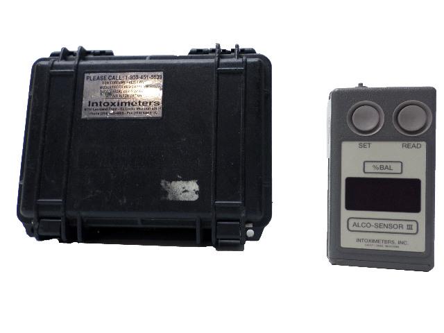 Alco-Sensor III Intoximeter