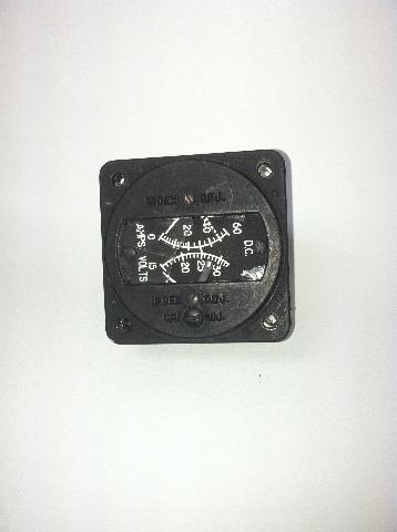 Aircraft Instrumentation and Development Voltammeter P/N 12-3001-1