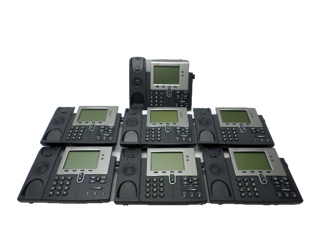 A Lot of 7 CISCO 7941 IP Phones
