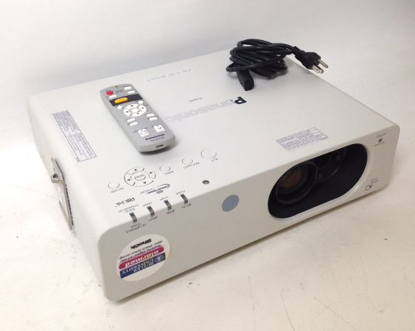 Panasonic PT-FW430U LCD Projector 2849 Lamp Hours