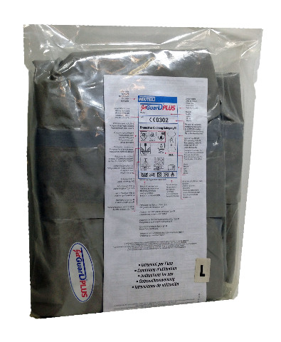 Indutex JetGuard Plus Large Coverall Chemical Suit CE0302
