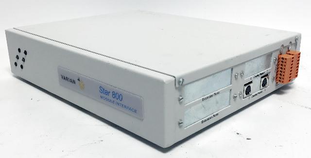 Varian Star 800 Chromatography Module Interface Box Analog to Digital Converter