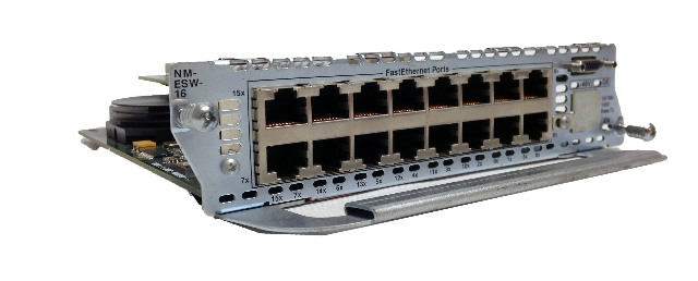 Cisco NM-ESW-16-PWR 16 Port 10/100/1000 Ethernet Network Module Card