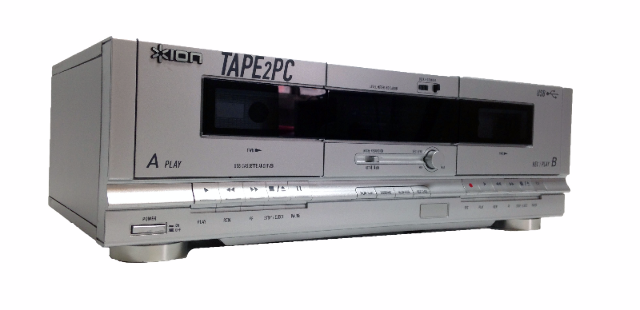 ION TAPE2PC USB Cassette Archiver Recorder