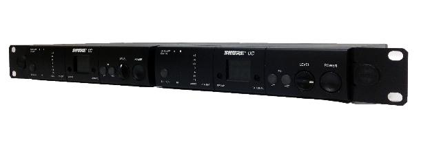 Shure UC4-UA Dual Rack-Mount Wireless Microphone Recievers