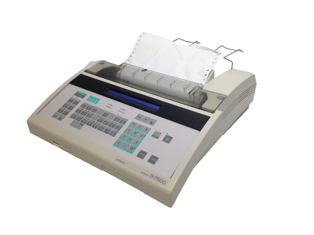 Hitachi D-7500 Integrator Computing HPLC 810-0051