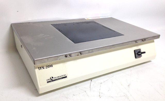 Life Technologies BRL TFX-20-M 20M UV Transilluminator Laboratory Tech