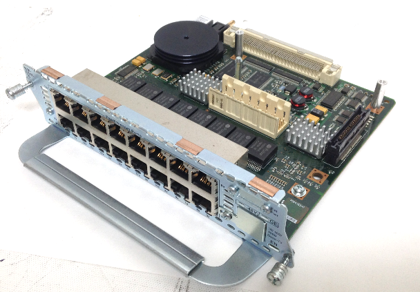 Cisco NM-ESW-16 16 Port 10/100 EtherSwitch Network Module