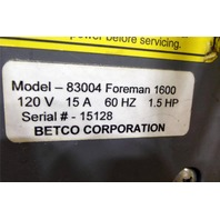 Betco Foreman 1600 Burnisher 1600RPM FLOOR POLISHER SCRUBBER