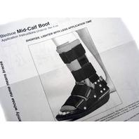 NEW Bledsoe Mid-Calf Boot LEFT MEDIUM NEW (M) Med CAST BOOT