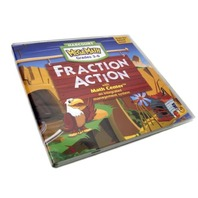 HarCourt MegaMath Fraction Action Grades 3-6 Version 2.0 for Windows & Macintosh