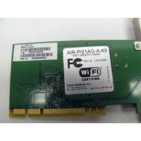 Cisco AIR-PI21AG-A-K9 802.11 a/b/g Wireless PCI Adapter