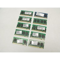 Lot of 10 512MB 2Rx16 PC2-5300 555Mhz DDR2 RAM Laptop Memory Sticks