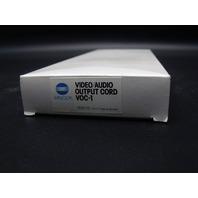 New Genuine Minolta VOC-1 7829-710 Video Audio Output Cord