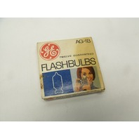 Lot of 2 Vintage GE General Electric AG-1 Flashbulbs - 15 Bulbs Total