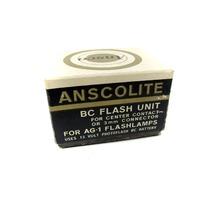 New Vintage Ansco Anscolite BC Flash Unit for AG-1 Flashlamps