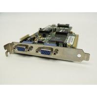 BARCO Metheus 2MP2 KM570031 044J08000724 Dual VGA PCI Video Card