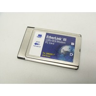 3Com EtherLink III PCMCIA 10Base-T Coax LAN+33.6 Modem PC LAN Card