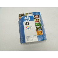 New Genuine HP 41 Tri-Color Inkjet Color Print Cartridge