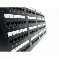 Lucent E137579 patch panel 96-port 1100CAT5 PS MODULAR JACK PANEL