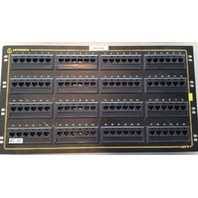 "Ortronics 96-Port CAT5e Patch Panel OR-851044816 RJ-45 4U 19"" Rack Mount"