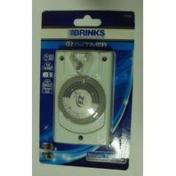 NIB Brinks EZ-Dial Timer 42-1023 outlet timer